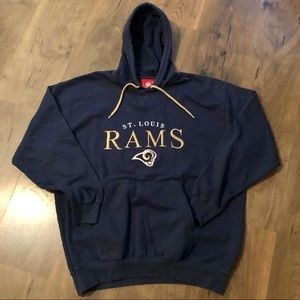NFL St Louis Rams Hoodie Pullover